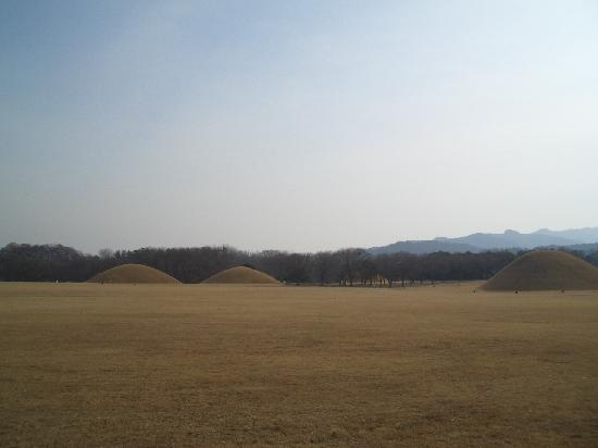 Gyeongju, South Korea: 大塚墓群です。