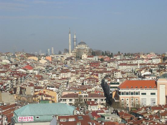 Ramada Istanbul Old City: View from Rooftop Restaurant - Marmara