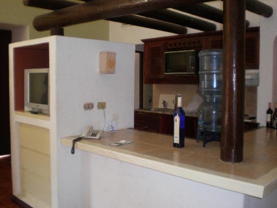 Hotel Soleil Pacifico: Condo kitchen