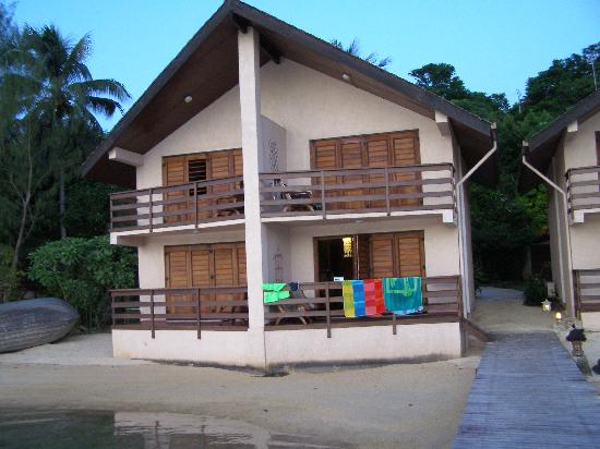 Fatumaru Lodge: View from the front of the apartment