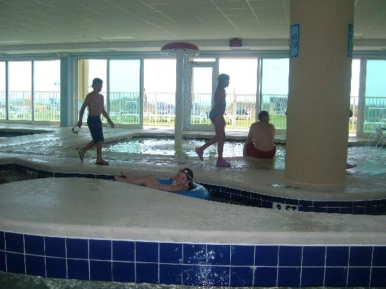 Indoor Lazy River Pool And Hot Tub Picture Of Holiday Sands South Myrtle Beach Tripadvisor