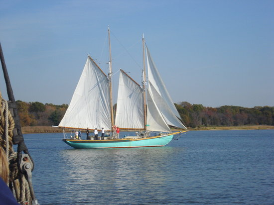 Sailing in Chestertown
