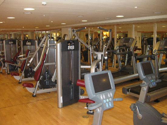 Sheraton Stockholm Hotel: gym