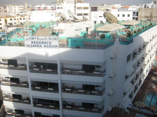 Residence Yasmina Agadir: Front