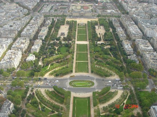 View From Tour Eiffel Paris Picture Of Paris Ile De