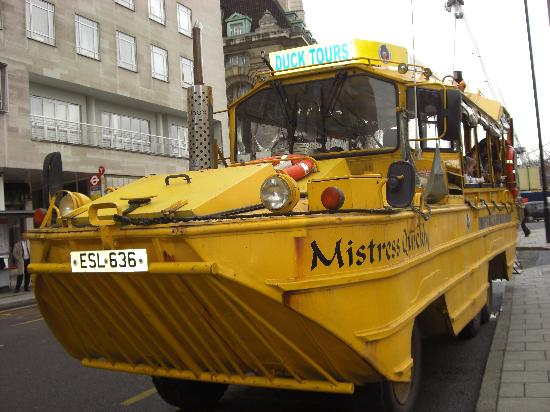 London Duck Tours: Mistress Quickly