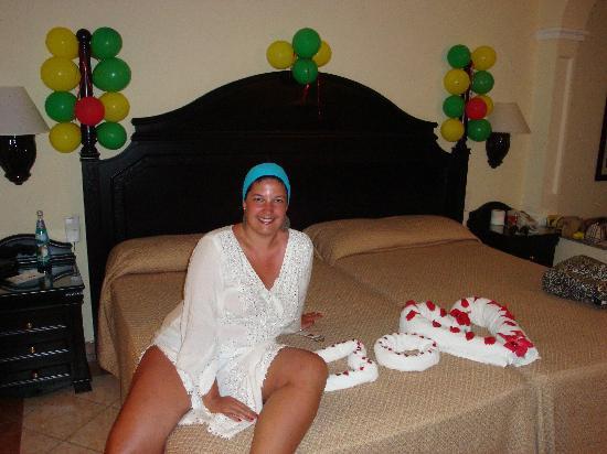 Wife Birthday S Room Decoration Picture Of Hotel Riu Palace Punta Cana Punta Cana Tripadvisor