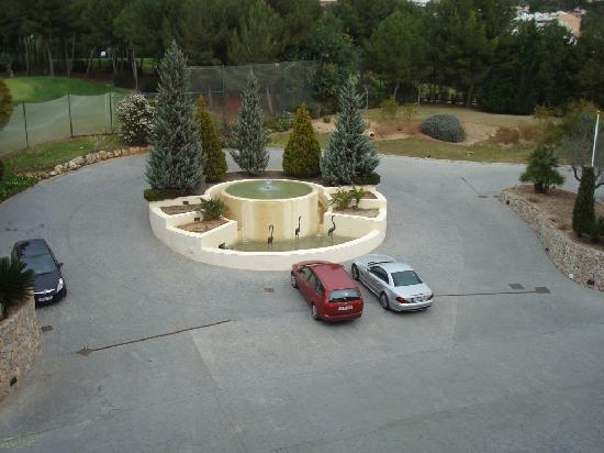 Lindner Golf & Wellness Resort: Golfplatzblick laut Hotel