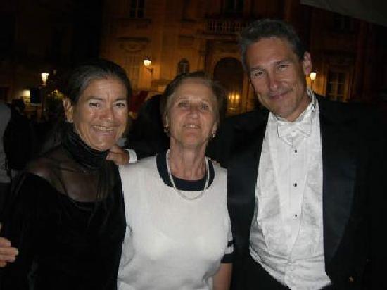 Locanda La Meridiana: Concetta, Mark and Gigi