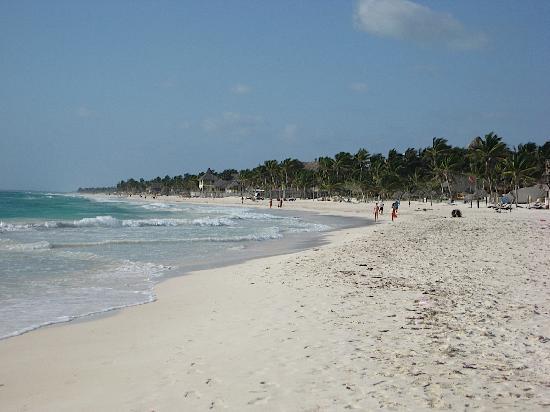 Amelie Tulum : The beach.