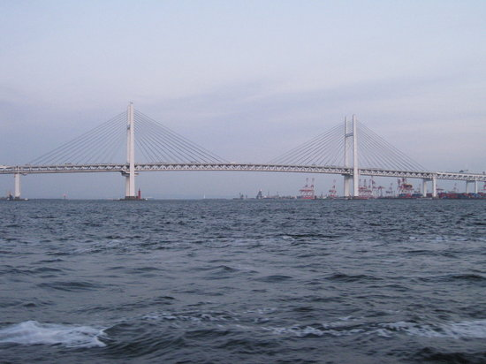 Photo of Bridge Yokohama Bay Bridge at 鶴見区大黒埠頭, Yokohama 230-0054, Japan