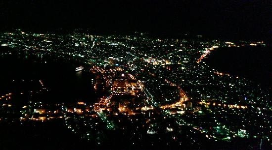 Mount Hakodate: 夜景