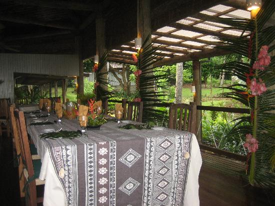 Lalati Resort & Spa: Our Dining Table
