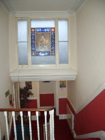 Hotel Concorde: Stained Glass Window