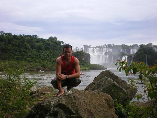 Puerto Iguazú, Argentina: vista desde el lado brasileño