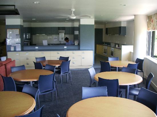 Domain Lodge : Kitchen/dining area, 2nd floor.
