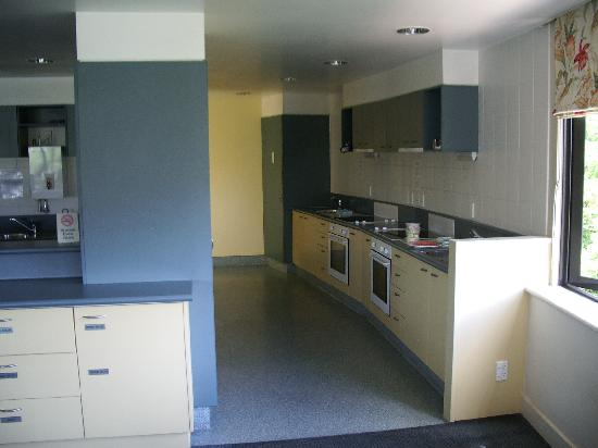 Domain Lodge: Kitchen area, 2nd floor.