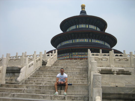 Pekín (Beijing), China: Sky temple