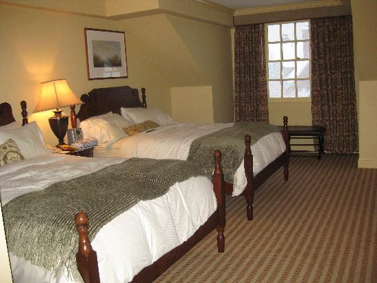 Woodstock Inn & Resort: our room