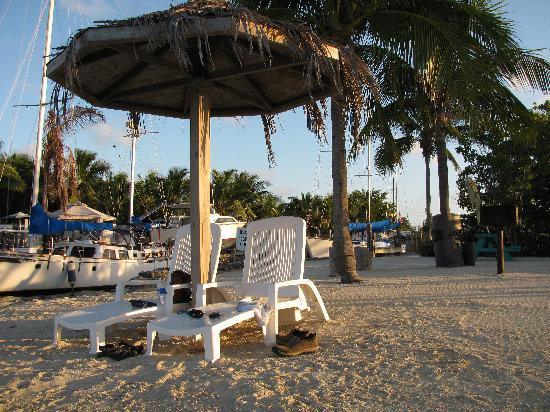 Blackfin Resort and Marina: Beach Area at Blackfin-2009