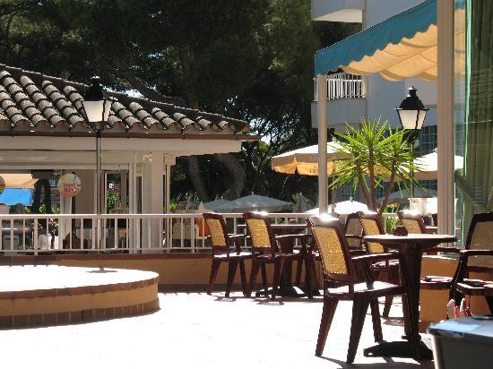 Hotel Riu Concordia: terrasse