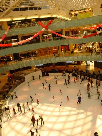 The Westin Galleria Dallas: Skate Rink Dallas Galleria