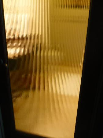 See through bathroom door