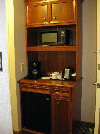 Fridge Coffee Maker Microwave Picture Of Hilton Garden
