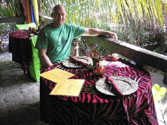Maruba Resort Jungle Spa: In the jungle treehouse for lunch