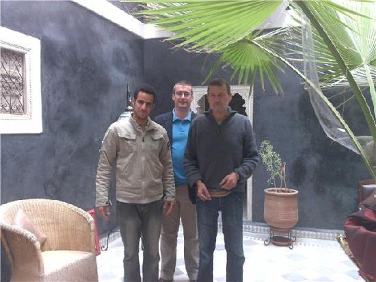 Riad Menzeh : jamal, dom, bernard