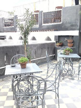 Riad Menzeh : balcony
