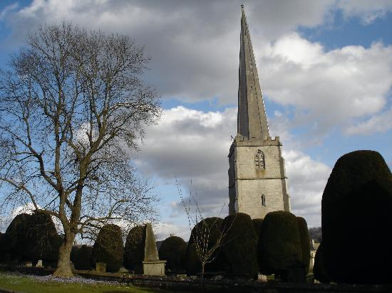 St Michael's: Church right opposite B&B