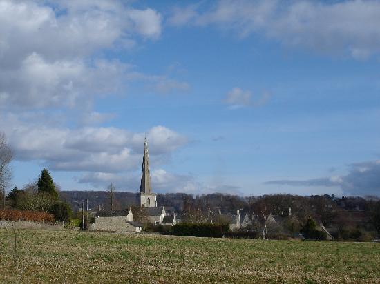 St Michael's: Painswick and surrounding countryside