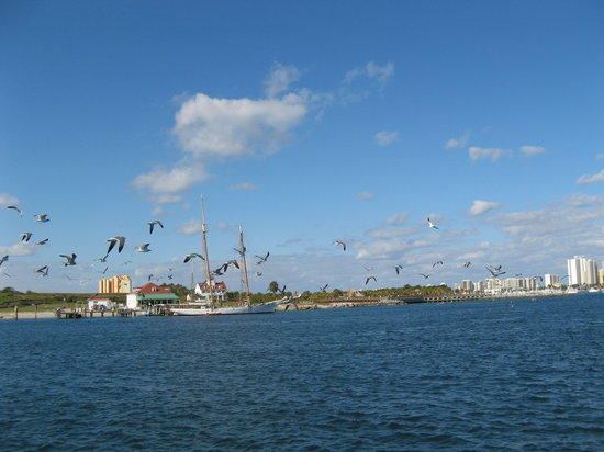 North Palm Beach, FL: View of Peanut Island