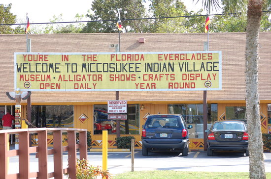 Tamiami, Flórida: Miccosukee Indian Village
