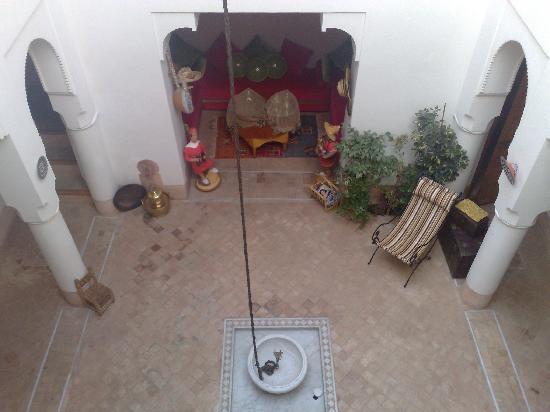 Riad Slawi: The courtyard