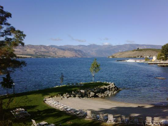 Campbell's Resort on Lake Chelan: Lake Chelan from the room balcony
