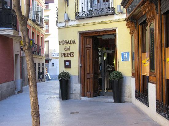 front entrance - picture of petit palace posada del peine, madrid
