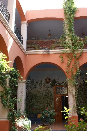 Hotel Casa San Angel: Interior