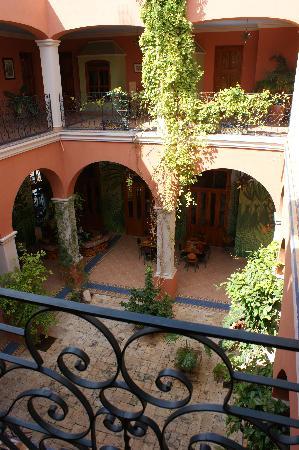 Hotel Casa San Angel: Interior Courtyard
