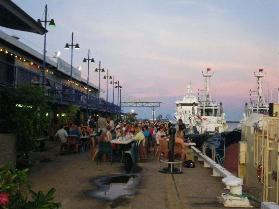 Stokes Hill Wharf Restaurants