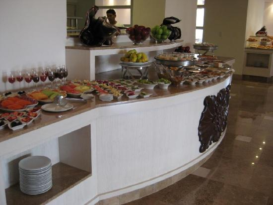 Beloved Playa Mujeres: Part of the awesome breakfast buffett at La Amada
