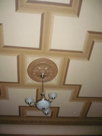 Europa Royale Riga: room ceiling