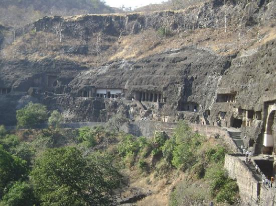 A view of Ajanta