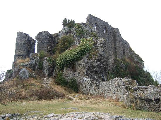 Chateau de Roquefixade,France.