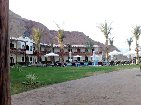 Dahab Paradise: a nice view from the restaurant