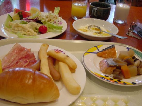 Star Hotel Yokohama : 朝食メニュー。