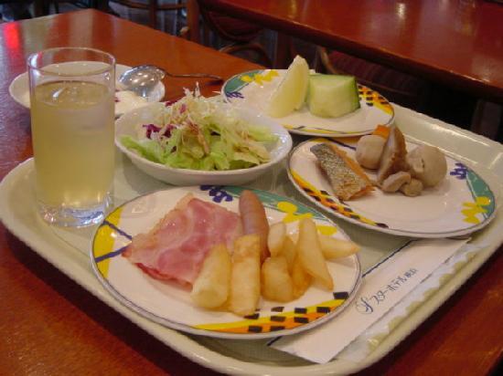 Star Hotel Yokohama : セレクトメニュー2。