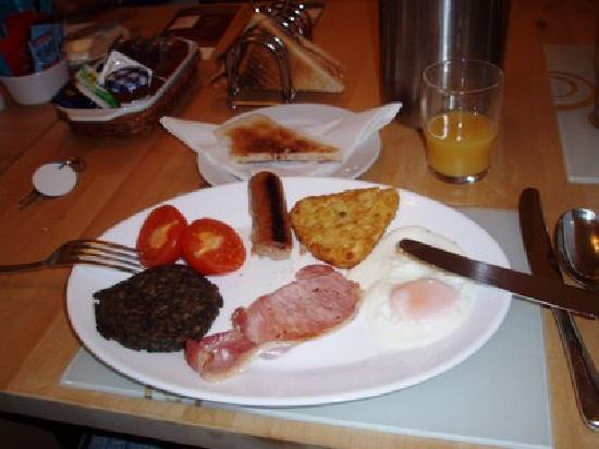 Browns Bed and Breakfast: full scottish breakfast