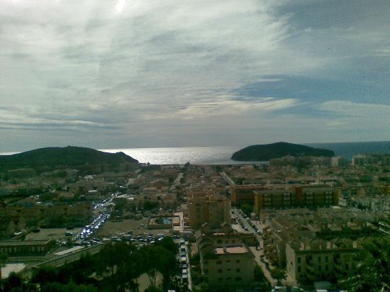 Hotel La Cumbre: View from balcony 3rd floor La Cumbre Hotel